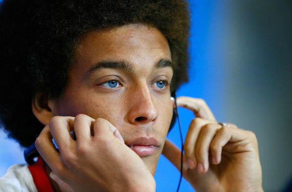 """<div class=""""meta image-caption""""><div class=""""origin-logo origin-image """"><span></span></div><span class=""""caption-text"""">BELGIUM: Axel Witsel's baby blues can't be seen from the stands too often, which is all the more reason to enjoy close-ups.</span></div>"""