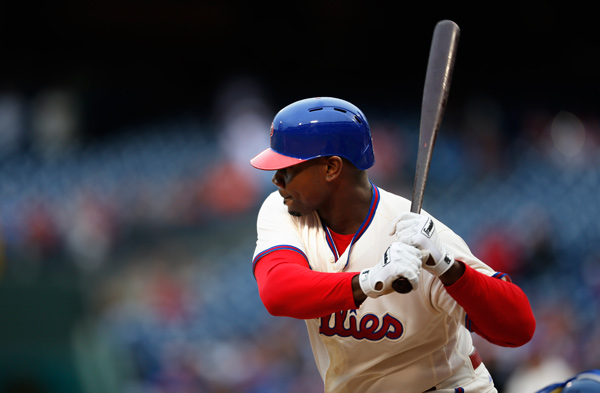 <div class='meta'><div class='origin-logo' data-origin='AP'></div><span class='caption-text' data-credit='AP Photo/Laurence Kesterson'>Philadelphia Phillies first baseman Ryan Howard (6) in action during a baseball game against the New York Mets, Saturday, Oct. 1, 2016, in Philadelphia.</span></div>