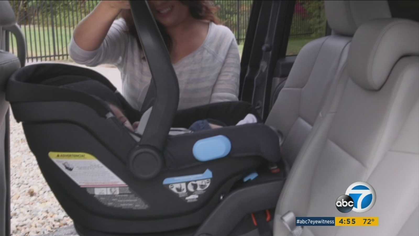 Load Leg Dramatically Improves Car Seat Safety Consumer Reports Finds Abc7 Los Angeles
