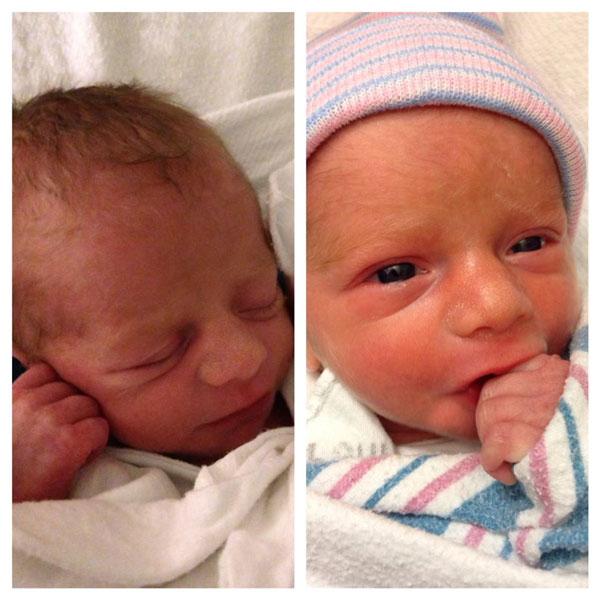 """<div class=""""meta image-caption""""><div class=""""origin-logo origin-image """"><span></span></div><span class=""""caption-text"""">Action News anchor Brian Taff and wife Mara welcomed Brady Donovan and Sawyer Patrick to the world on Wednesday, July 2, 2014.</span></div>"""