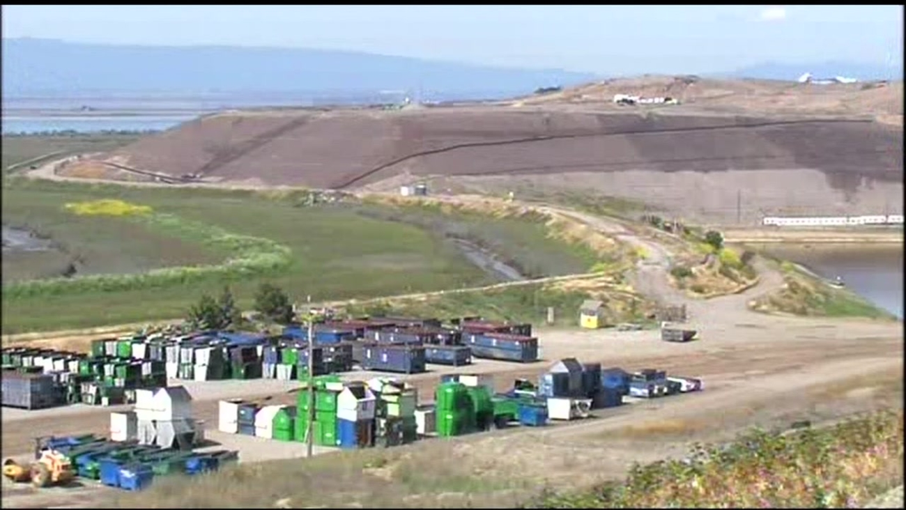 The Newby Island landfill in Milpitas, Calif. is seen in this undated image.