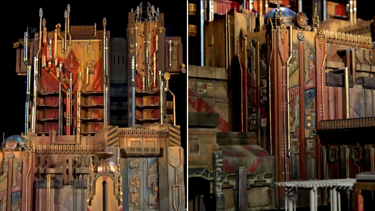 Disney revealed its design for the Guardians of the Galaxy - Mission: BREAKOUT!, the attraction that will replace the Twilight Zone Tower of Terror at California Adventure Park.