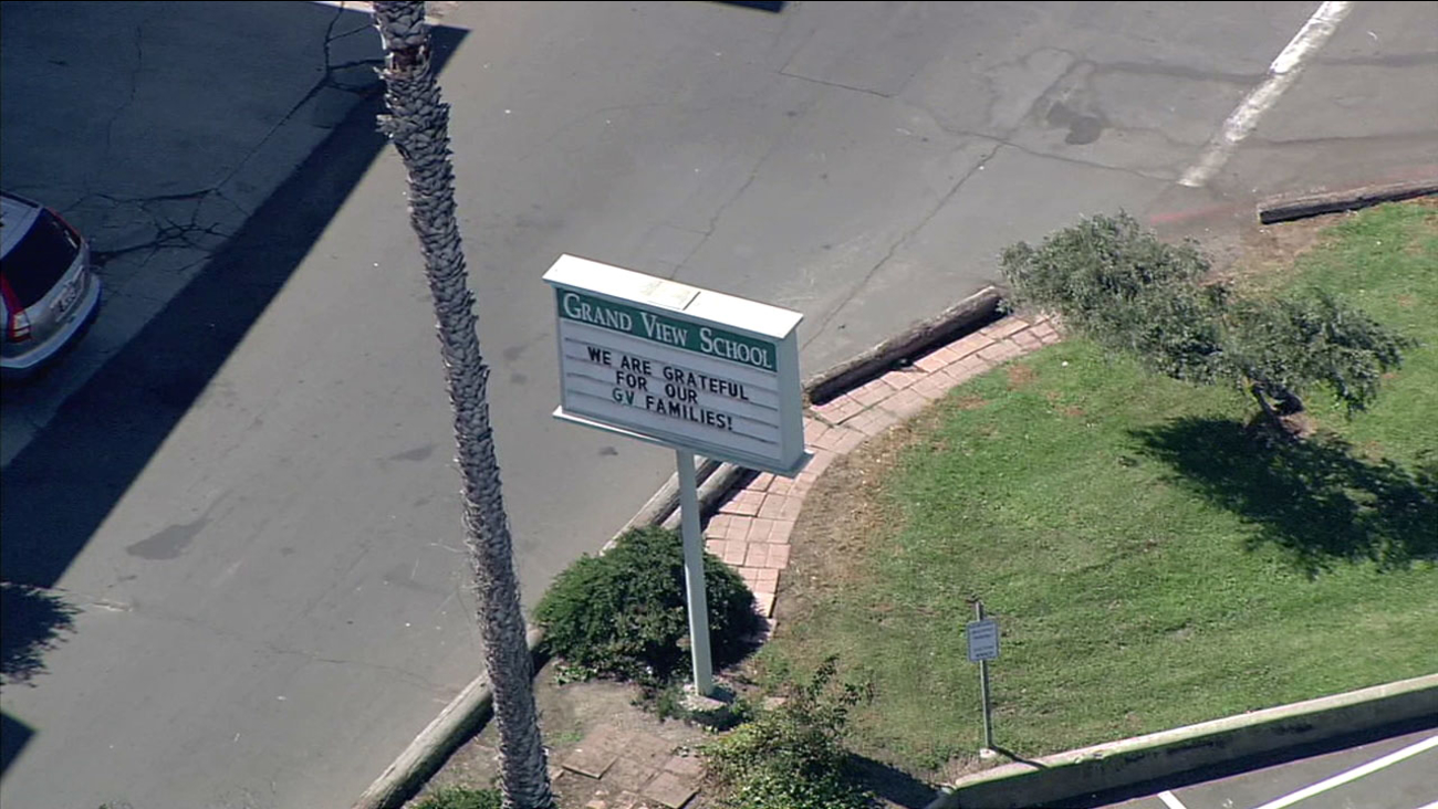 Grand View elementary school in Manhattan Beach is seeing increased security after a district employee brought ammunition to campus.