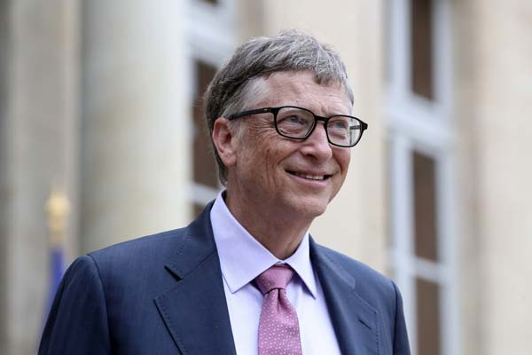 <div class='meta'><div class='origin-logo' data-origin='AP'></div><span class='caption-text' data-credit='AP Photo/Kamil Zihnioglu'>No. 1: Philanthropist and co-founder of Microsoft, Bill Gates, is worth $81B.</span></div>