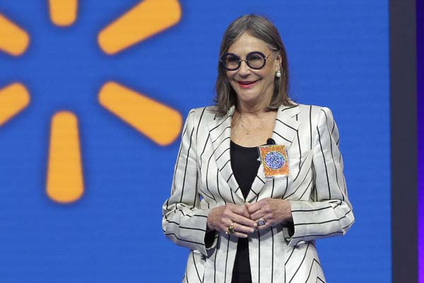 <div class='meta'><div class='origin-logo' data-origin='AP'></div><span class='caption-text' data-credit='AP Photo/Danny Johnston'>No. 13: Alice Walton, daughter of Wal-Mart founder Sam Walton, is worth $35.4B.</span></div>
