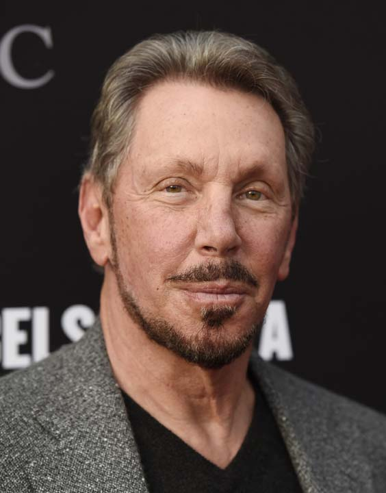 <div class='meta'><div class='origin-logo' data-origin='AP'></div><span class='caption-text' data-credit='Chris Pizzello/Invision/AP'>No. 5: Oracle founder Larry Ellison is worth $49.3B.</span></div>