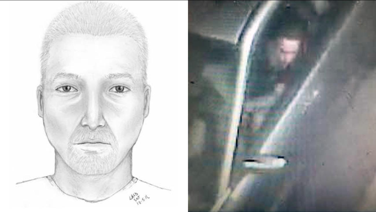 The UCLA Police Department released a sketch of a suspect wanted in a carjacking and kidnapping near the UCLA campus on Monday, Oct. 3, 2016.