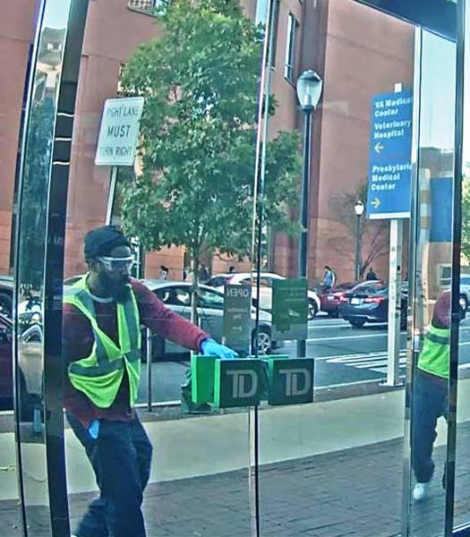 """<div class=""""meta image-caption""""><div class=""""origin-logo origin-image none""""><span>none</span></div><span class=""""caption-text"""">Philadelphia police are looking for a suspect wearing a safety vest who is believed to be responsible for multiple bank robberies.</span></div>"""