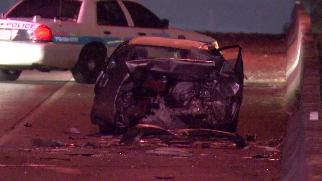 Deadly crash on Gulf Freeway