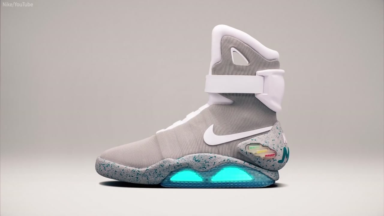Self lacing 'Back to the Future' shoes now a reality