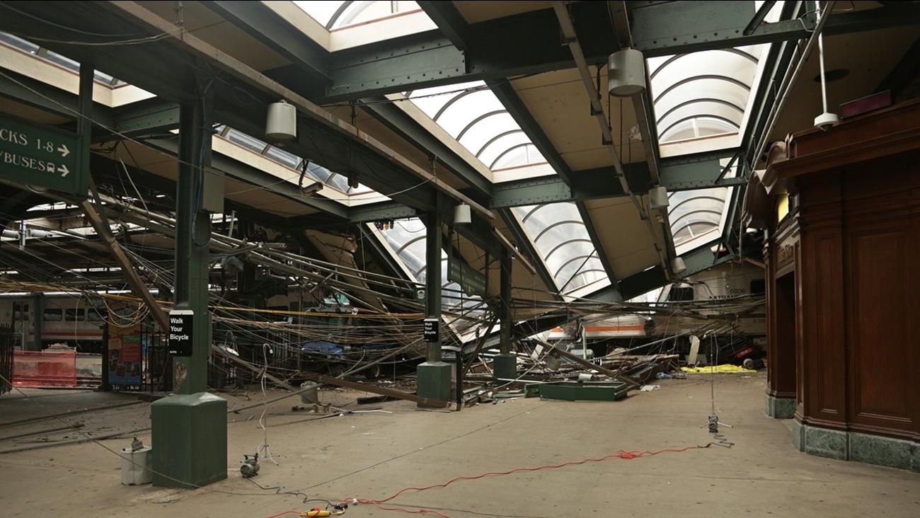 hoboken terminal train crash