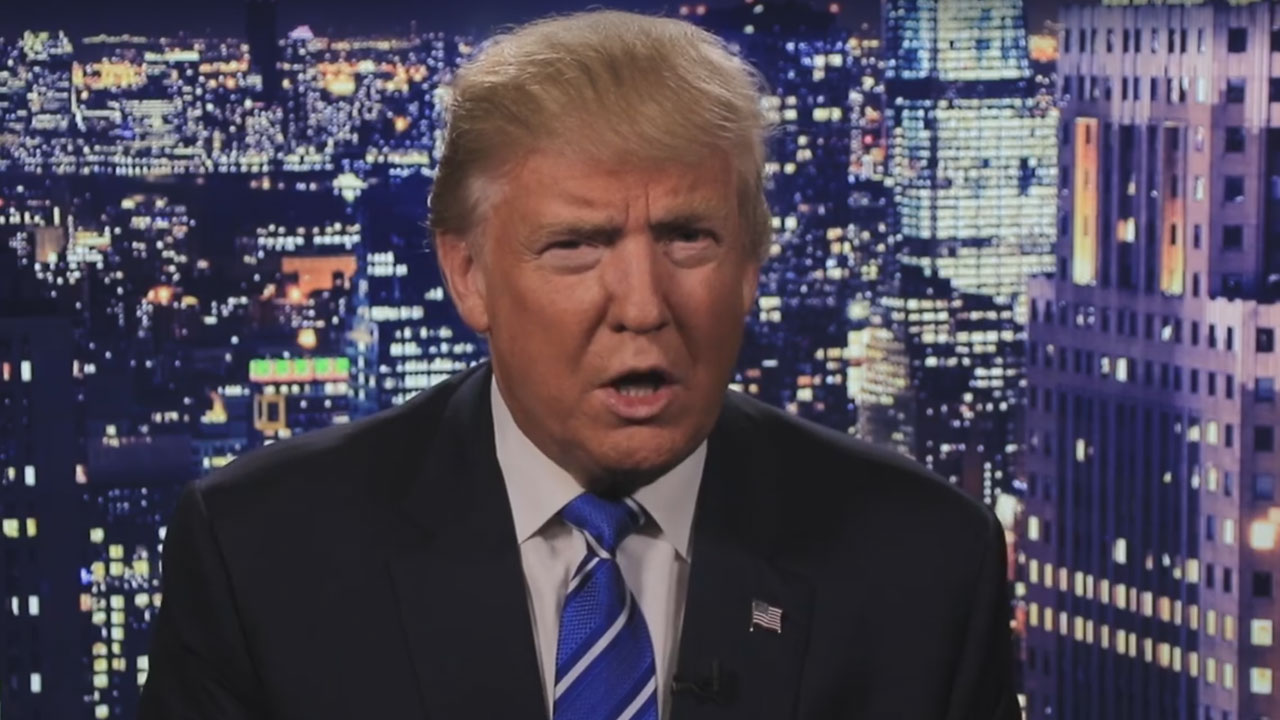 Donald Trump is shown in a video he posted on his Facebook on Friday, Oct. 7, 2016, apologizing for his vulgar comments about women that were caught on tape in 2005.