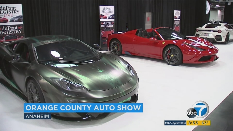 Orange County Auto Show >> Oc Auto Show Showcases Latest Advancements For Big Name Brands