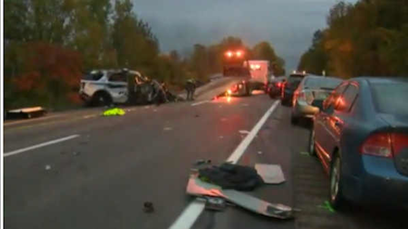 Vermont Wrongway Crash Leaves 5 Dead Police Say - Newspaper   St