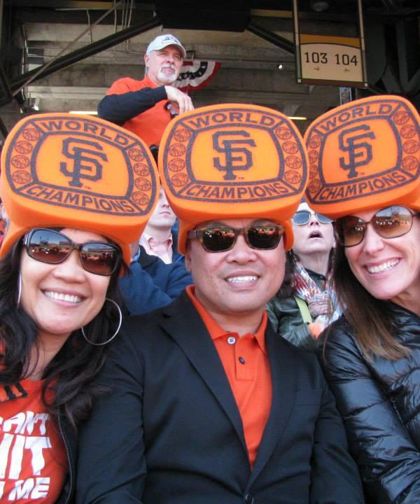 <div class='meta'><div class='origin-logo' data-origin='none'></div><span class='caption-text' data-credit='Photo submitted to KGO-TV by mjdpowell/Twitter'>ABC7 viewers are showing off their San Francisco Giants fan pride. Share yours by tagging #abc7now!</span></div>