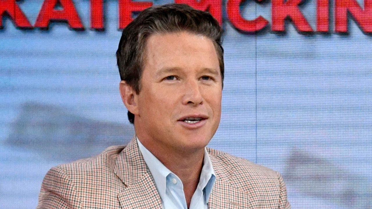 "In this Sept. 26, 2016 photo released by NBC, co-host Billy Bush appears on the ""Today"" show in New York."