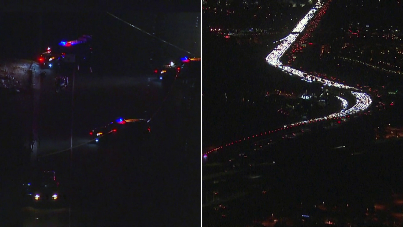 Suspects After Officer Involved Shooting On 5 Freeway In Irvine
