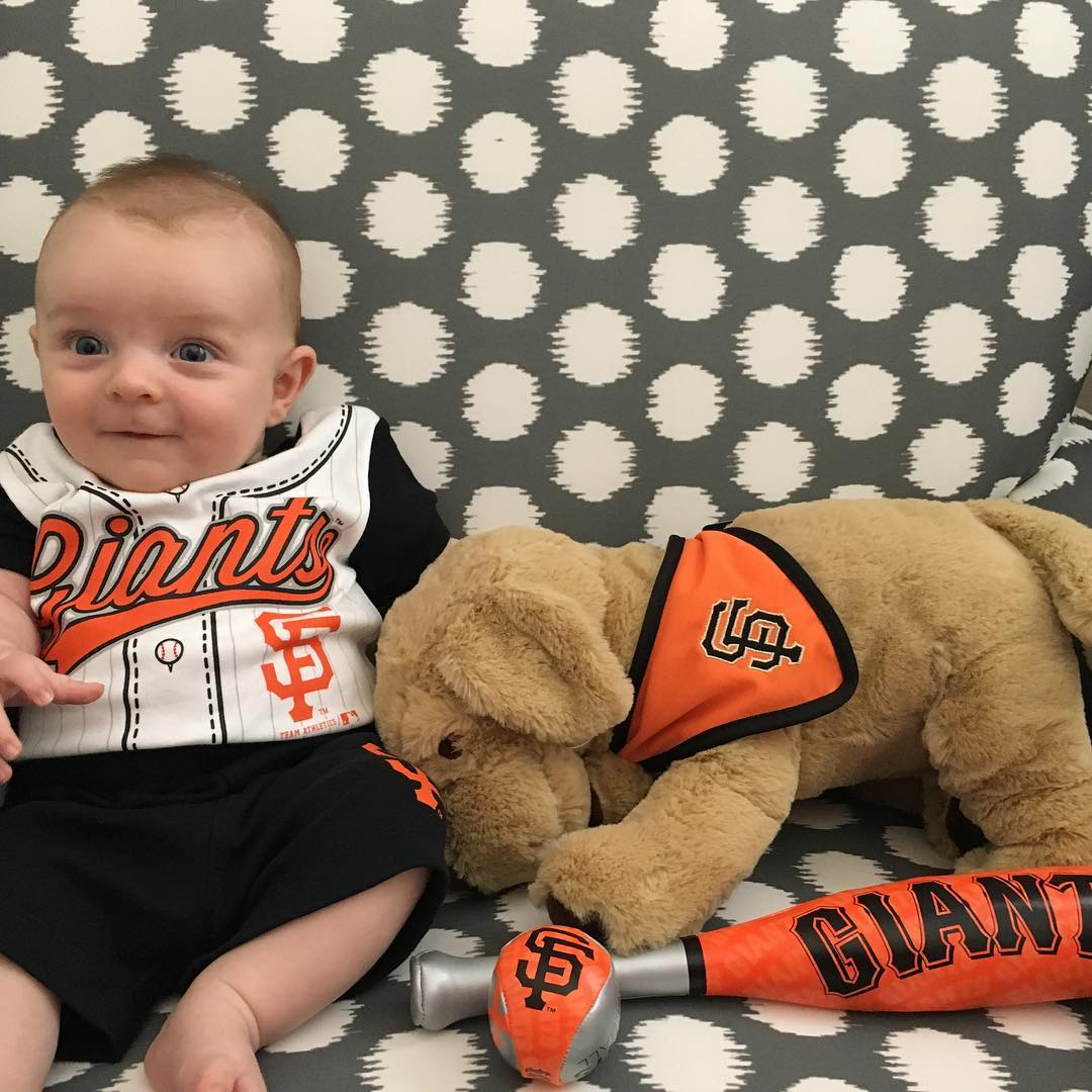 <div class='meta'><div class='origin-logo' data-origin='none'></div><span class='caption-text' data-credit='Photo submitted to KGO-TV by sunflowerjenna/Instagram'>ABC7 viewers are showing off their San Francisco Giants pride. Share your pics by tagging #abc7now!</span></div>