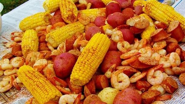 "<div class=""meta image-caption""><div class=""origin-logo origin-image none""><span>none</span></div><span class=""caption-text"">North Carolina Low Country Boil from Ragin' Cajun near the Grandstand (Credit: N.C. State Fair)</span></div>"