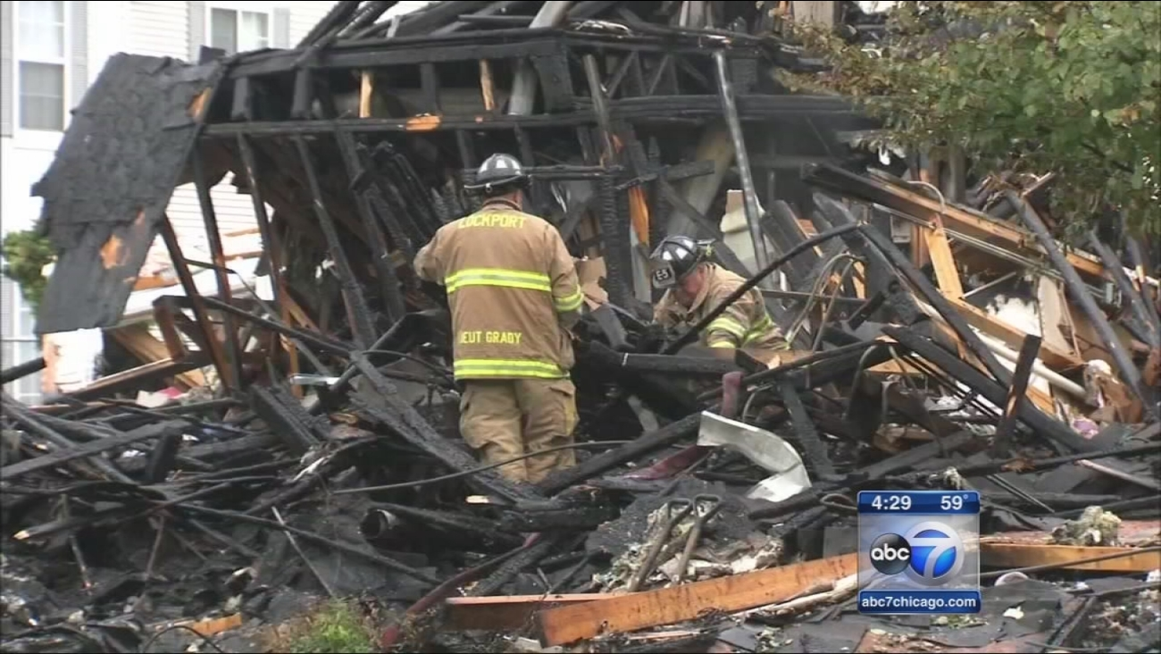 Romeoville townhouses leveled in gas explosion