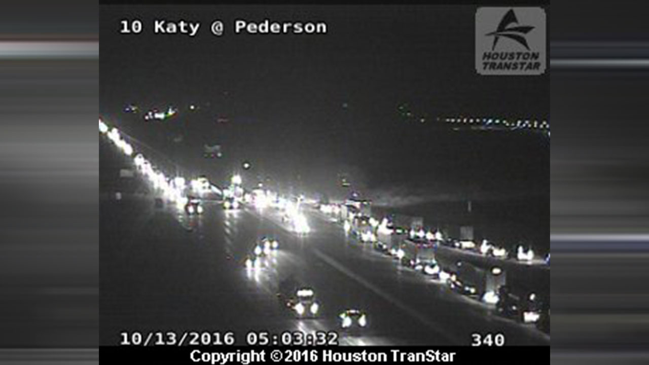 Katy Freeway wreck