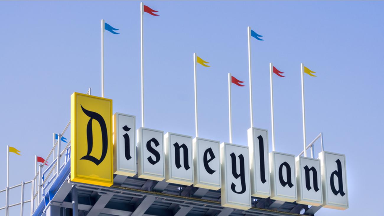 Image of Disneyland sign