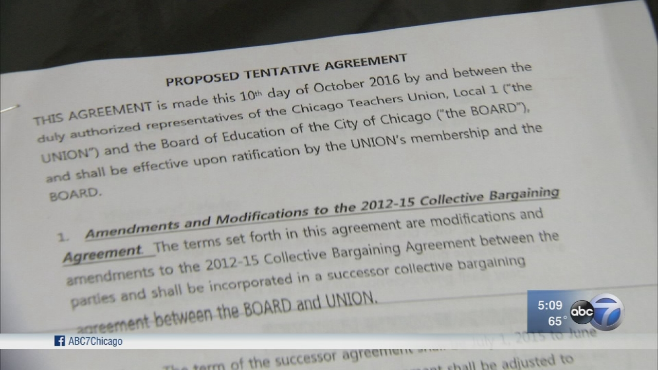CTU to vote on tentative contract