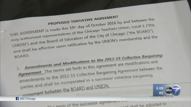 Ctu Members To Begin Voting On Cps Contract Monday Abc7chicago