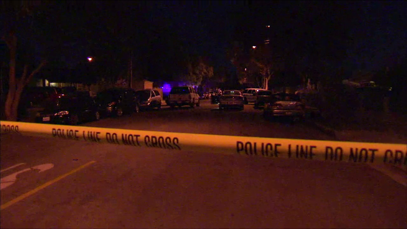 Police responded after a 36-year-old man was shot and killed in Bell Gardens on Wednesday, Oct. 19, 2016.