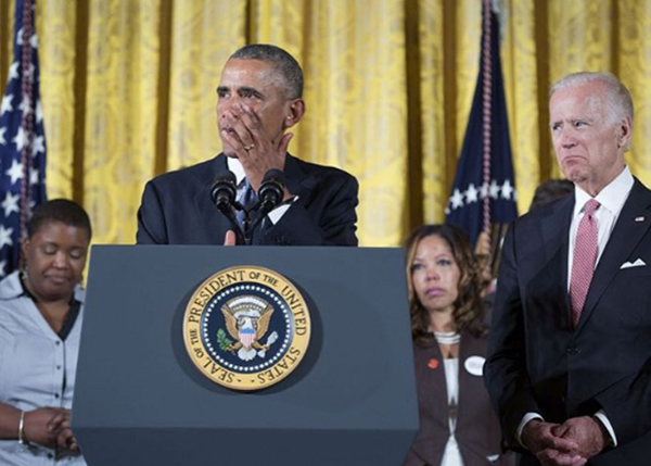 "<div class=""meta image-caption""><div class=""origin-logo origin-image none""><span>none</span></div><span class=""caption-text"">President Obama wipes away a tear after calling for new gun measures in January 2016. The president became emotional when he spoke about the victims of the Sandy Hook shooting. (Pete Souza, Chief Official White House Photographer)</span></div>"