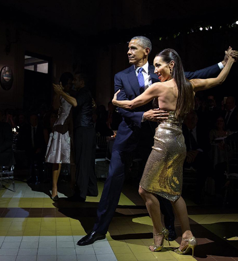 "<div class=""meta image-caption""><div class=""origin-logo origin-image none""><span>none</span></div><span class=""caption-text"">President Obama showing off his best tango moves in Argentina in 2016. (Pete Souza, Chief Official White House Photographer)</span></div>"