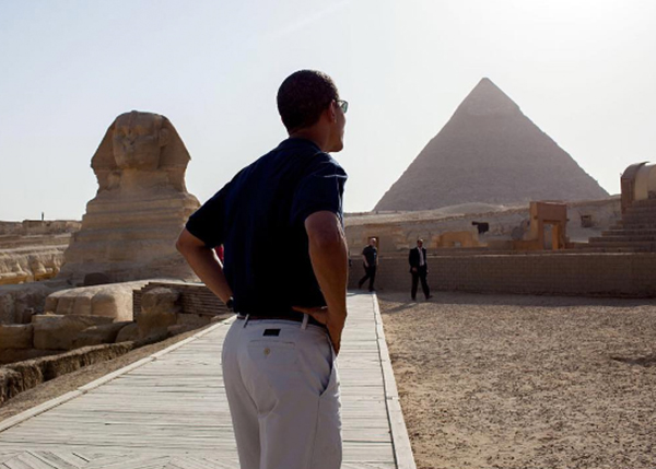 "<div class=""meta image-caption""><div class=""origin-logo origin-image none""><span>none</span></div><span class=""caption-text"">A photo of the president from behind as he toured Egypt in 2009. (Pete Souza, Chief Official White House Photographer)</span></div>"