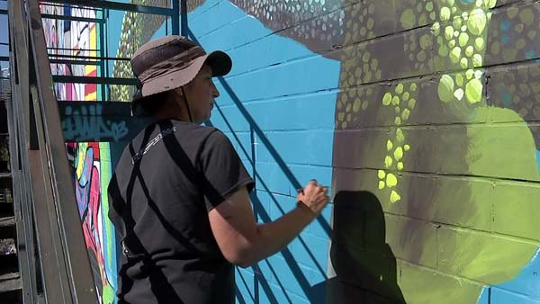 "<div class=""meta image-caption""><div class=""origin-logo origin-image ktrk""><span>KTRK</span></div><span class=""caption-text"">The eight-day Houston Urban Experience (HUE) Mural Festival is back again. (KTRK)</span></div>"