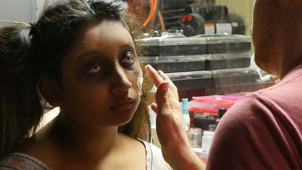 "<div class=""meta image-caption""><div class=""origin-logo origin-image ktrk""><span>KTRK</span></div><span class=""caption-text"">An actor preparing for a role in The Kingwood Asylum Haunted House (KTRK/Chris Nocera)</span></div>"
