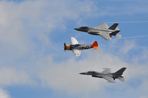 """<div class=""""meta image-caption""""><div class=""""origin-logo origin-image ktrk""""><span>KTRK</span></div><span class=""""caption-text"""">The Wings Over Houston Air Show showcased vintage World War II aircraft, along with the thrills of modern aviation, capped by the US Navy Blue Angels on October 22-23, 2016. (Gina Larson)</span></div>"""
