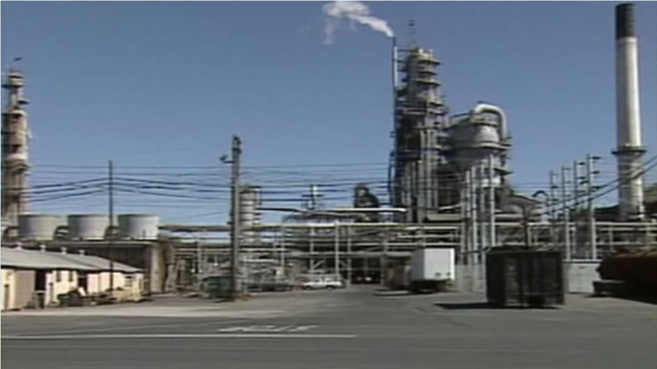FILE: This is an undated photo of the Valero Refining in Benicia, Calif.