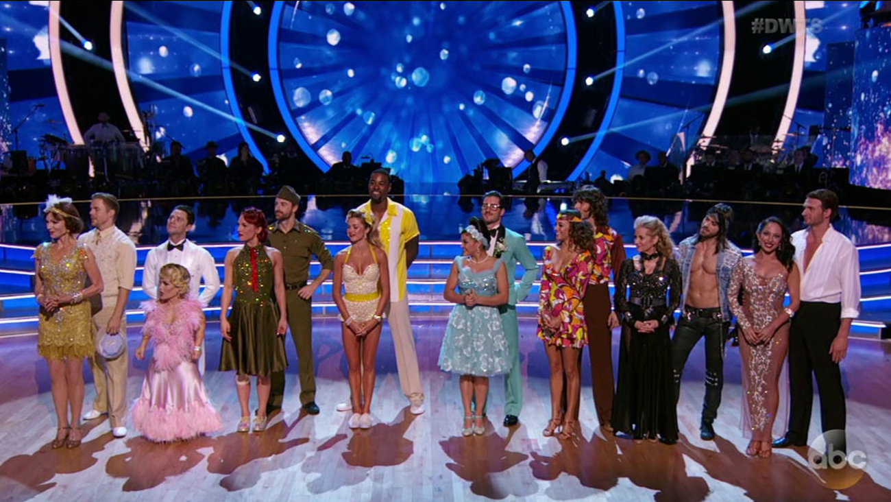 One more couple is eliminated from 'Dancing with the Stars' as the show takes a trip back in time with music from the 1920s through the '90s.