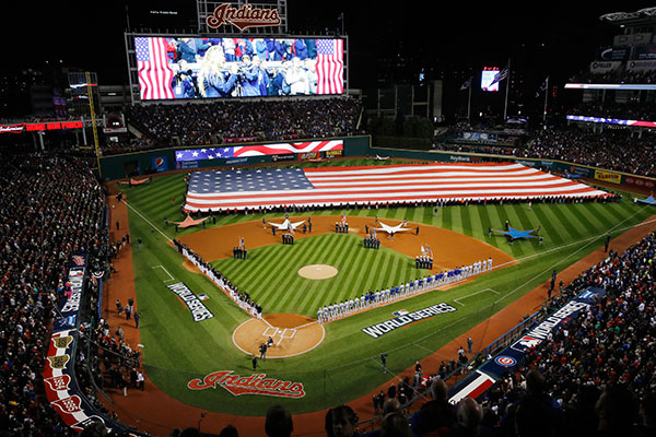 "<div class=""meta image-caption""><div class=""origin-logo origin-image none""><span>none</span></div><span class=""caption-text"">Major League Baseball World Series between the Cleveland Indians and the Chicago Cubs. (AP Photo/Gene J. Puskar)</span></div>"