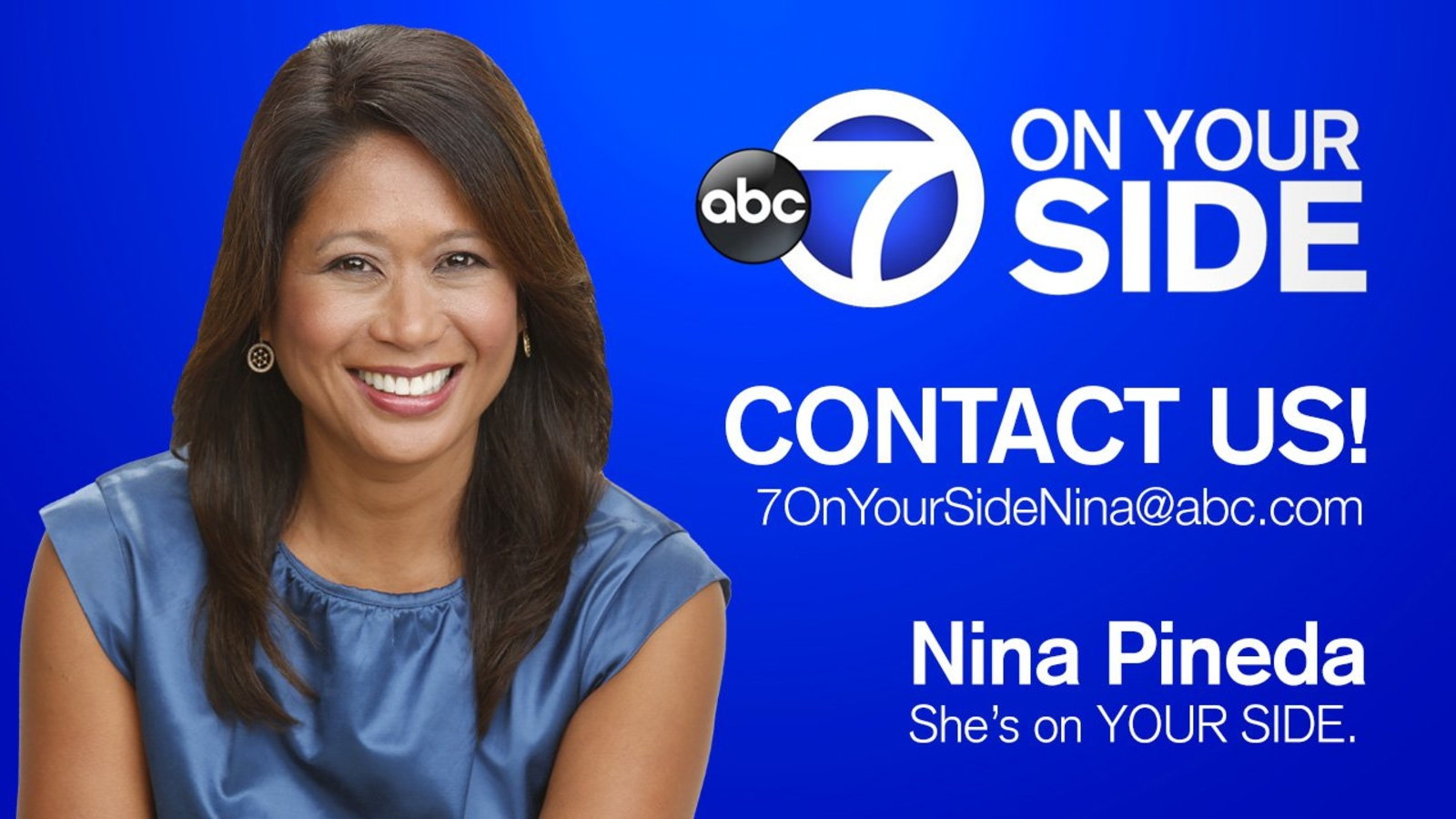 Contact 7 On Your Side and Nina Pineda | abc7ny com