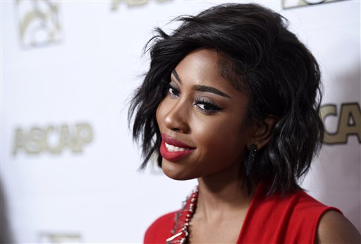 <div class='meta'><div class='origin-logo' data-origin='AP'></div><span class='caption-text' data-credit='Chris Pizzello/Invision/AP'>Sevyn Streeter poses at the 2015 ASCAP Rhythm & Soul Awards at the Beverly Wilshire Hotel on Thursday, June 25, 2015, in Beverly Hills, Calif.</span></div>