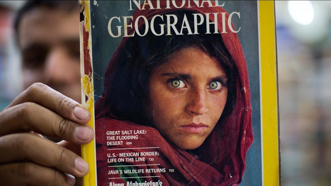 Sharbat Gulla, National Geographic's famed green-eyed 'Afghan Girl'