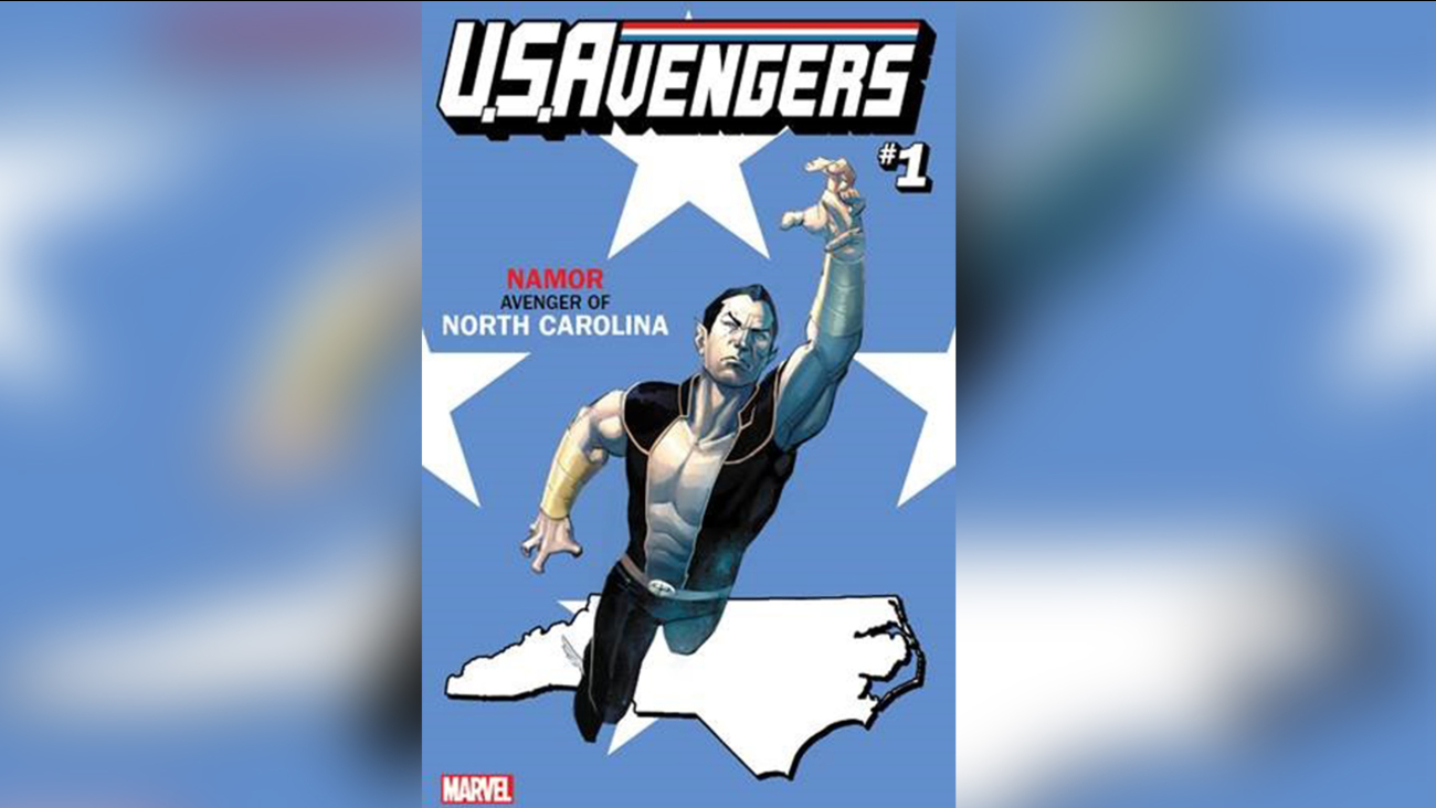 Namor - Avenger of North Carolina