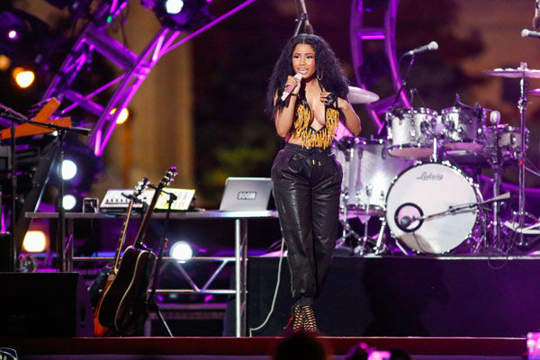 "<div class=""meta image-caption""><div class=""origin-logo origin-image ""><span></span></div><span class=""caption-text"">Nicki Minaj performs at the Philly 4th of July Jam in Philadelphia on Friday, July 4, 2014. (Photo by Mark Stehle/Invision/AP)</span></div>"