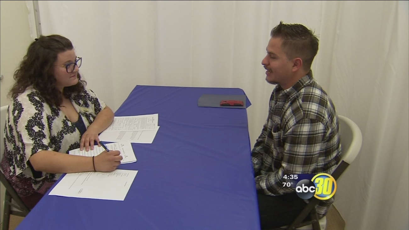 Employees kicked off China Peak's annual job fair