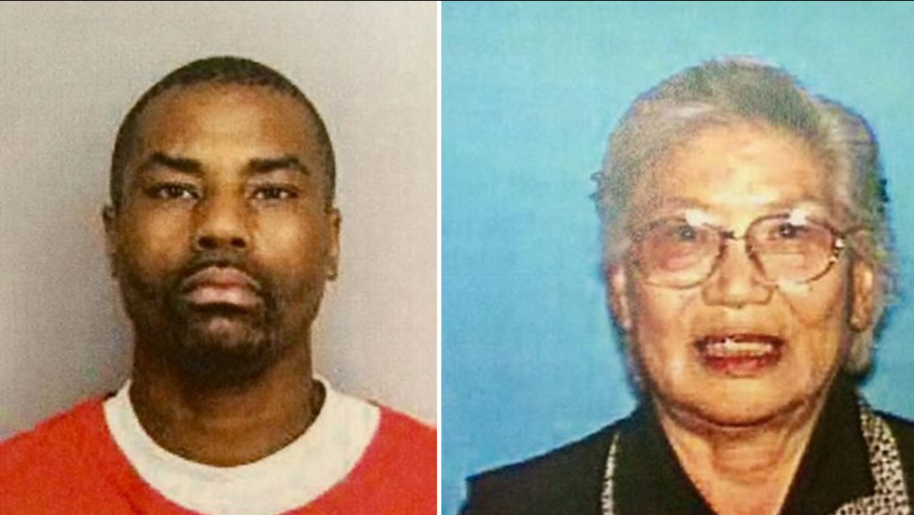 This image shows Jonathan Jackson, the man accused of beating and raping 82-year-old Sun Kwon of Richmond in 2012.