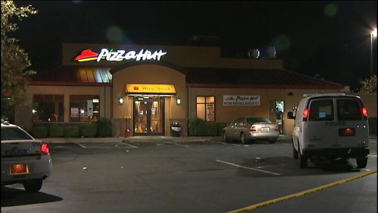 A Charlotte Pizza Hut employee shot and killed a man trying to rob the restaurant