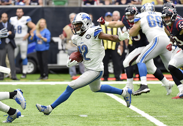 "<div class=""meta image-caption""><div class=""origin-logo origin-image ap""><span>AP</span></div><span class=""caption-text"">Detroit Lions wide receiver Andre Roberts (12) advance the ball after making a catch against the Houston Texans during the first half of an NFL football game. (AP Photo/Eric Christian Smith)</span></div>"