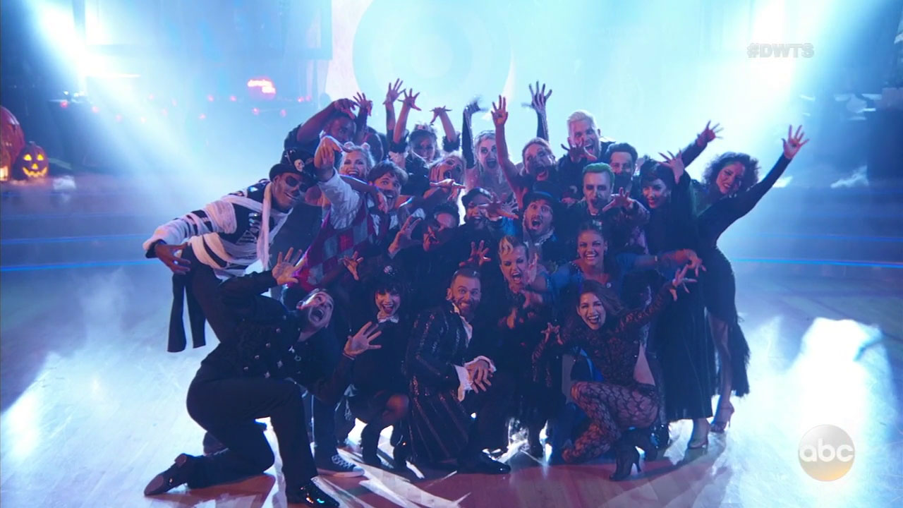 """Things got a little scary on """"Dancing with the Stars"""" this week."""