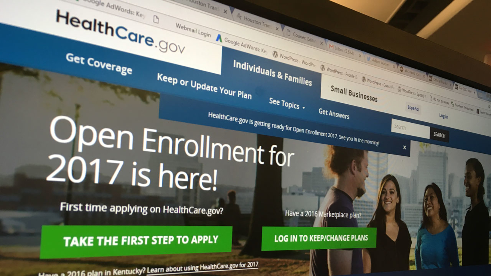 Need health insurance? Marketplace open for 2017 ...