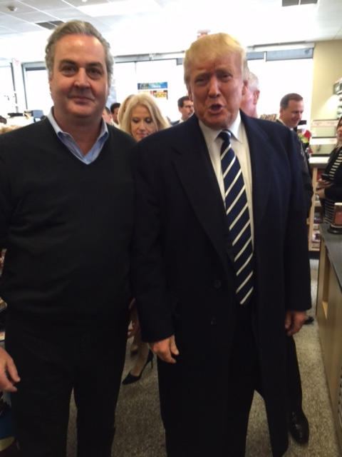 """<div class=""""meta image-caption""""><div class=""""origin-logo origin-image wpvi""""><span>WPVI</span></div><span class=""""caption-text"""">Republican presidential candidate Donald Trump stops at a Wawa in King of Prussia, Pa.</span></div>"""